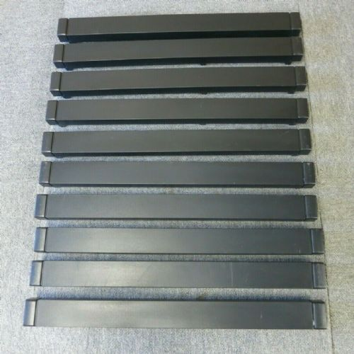 "10 x HP 464695-001 Universal 1U 19"" Rack Server Cabinet Black Blank Slot Filler"